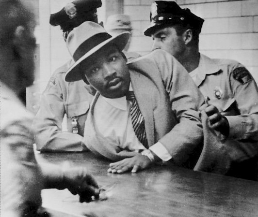 MLK arrested counter