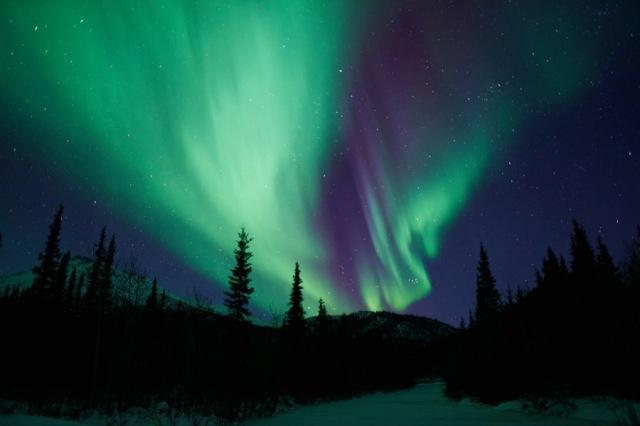 Northern Lights in Wiseman, Alaska